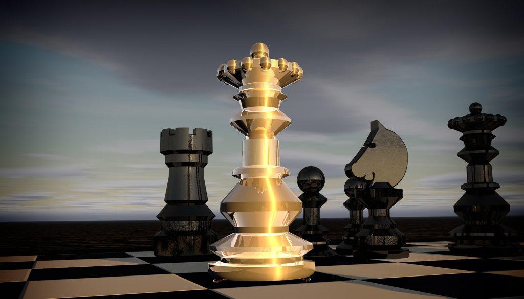 La tour blanche représente la lumière triomphant des entités négatives